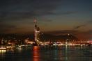 Milleniums Tower bei Nacht, Wien